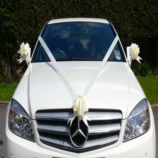 Wedding car ribbon youtube.