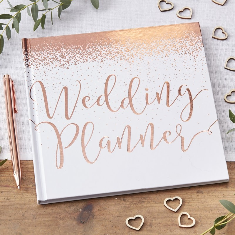 Wedding Planner - Rose Gold Foiled by Ginger Ray - Wedding and Party Store - Wedding and Party Store