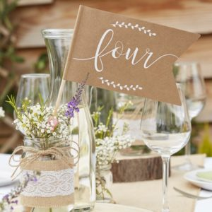 Table Numbers For Centre Pieces