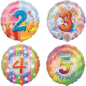 Bright Balloons Ages 1 to 10
